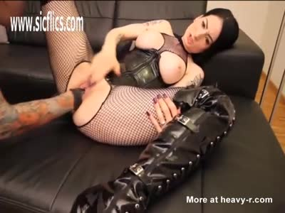 Latex Bitch Fist Fucked For The First Time
