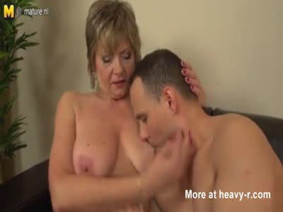 Horny Mature Woman Gets Fucked By Much Younger Guy
