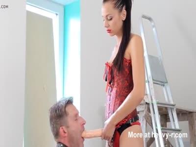 Mistress Strap-on slave