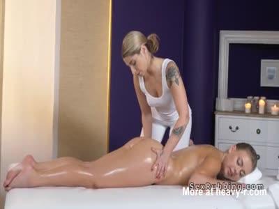 Naked Lesbian Oil Massage