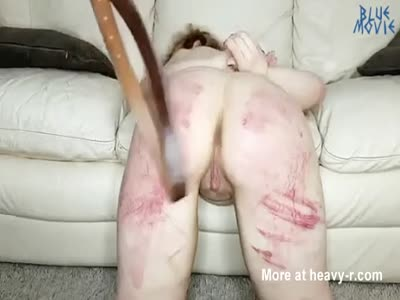 Brutal Ass Spanking With Belt