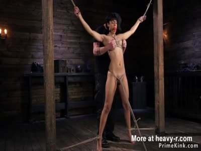Bound Slave Pussy Fingered And Vibed