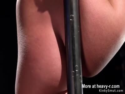 Waxed Milf pussy and ass toyed