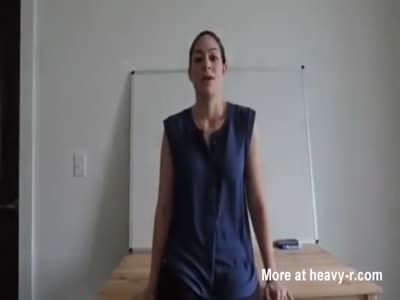 Awesome sex with the busty teacher