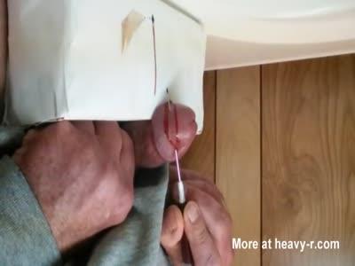 Monsterous Needle In Cock