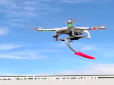 Dildo Fuck With Drone