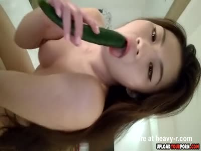 Asian Fucking Small Cucumber