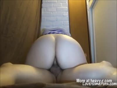 PAWG Riding Cock