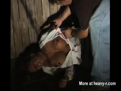 Girl Shot In Her Belly
