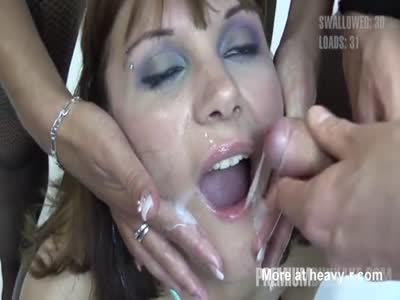Cum Dump Swallows Mouthful