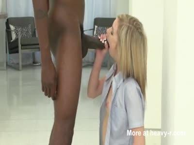 Skinny Blonde VS BBC
