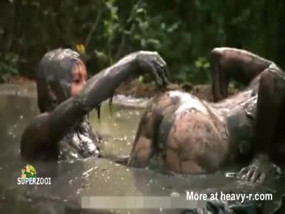 Drowning In Mud Having Sex