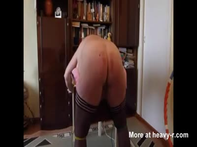 Amateur Wife Gets Big Ass Caned
