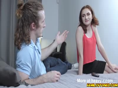 Stepbro let Kelsey Kage ride on his top