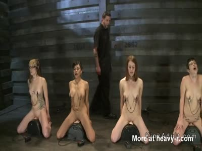 Naked Slaves In Bondage Training