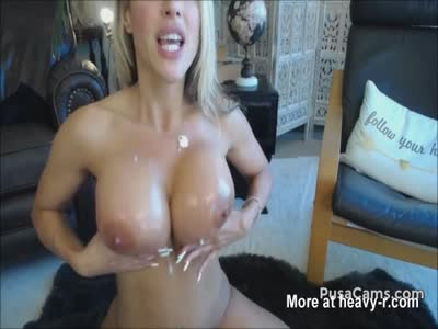 Hot Blonde With Big Boobs