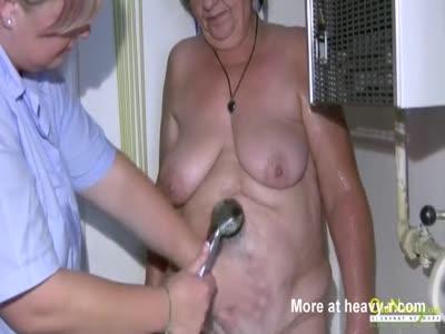 Washing Granny