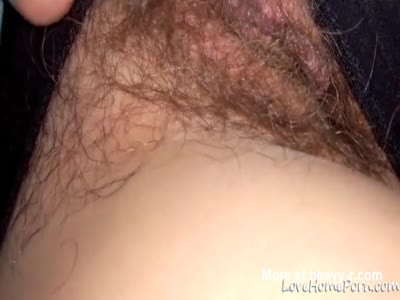 Licking Her Hairy Vagina