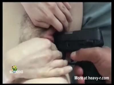 Teen Cunt Gun Fucked