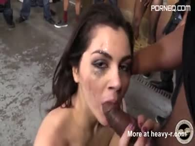 Big Ass Bitch Black Blowbang