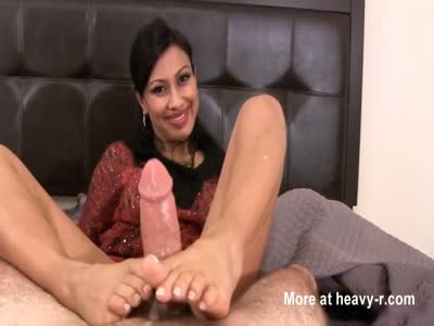 Footjob By MILF