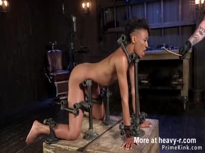 Slim ebony sub in doggy metal device