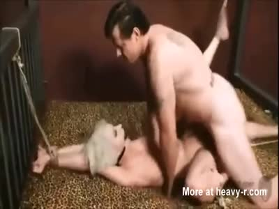 Sex Slave Bound And Gang Raped In Dungeon