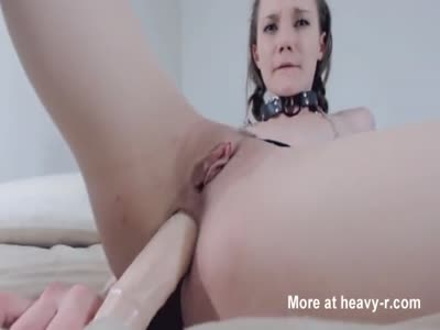 Submissive Teen Begs for Daddy's Cock