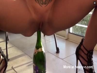 Fucking Champagne Bottle