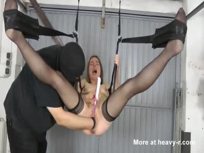 Fist Fucked Suspended In Swing