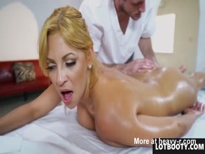 Masseur Fucking Fat Ass PAWG With Huge Boobs