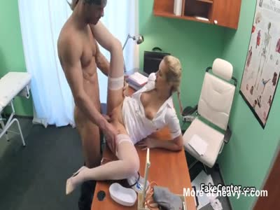 Stud Fucks Busty Nurse In Hospital
