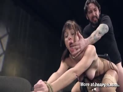 Rough Banging Tied Wife