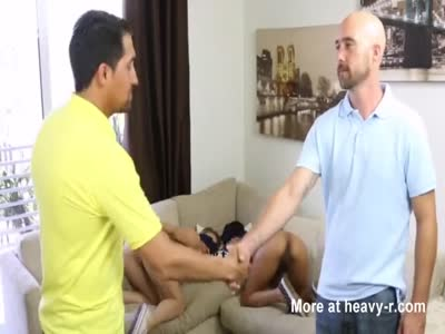 TEEN sits on best friend's father HUGE LONG DICK