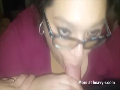 Chubby Busty Wife Blowing A Man She Just Met
