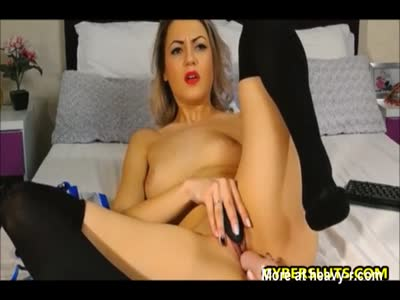 Horny Milf And Her Toys