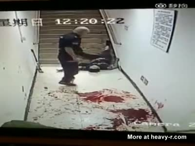 Manslaughter Madness: Brutal Stabbing Cop Kills Another Cop