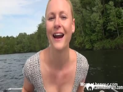 Blowjob And Sex On Boating Trip