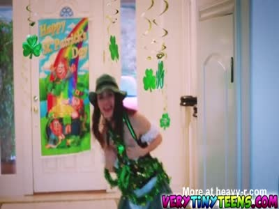 Lucie Cline is the sexiest Leprechaun