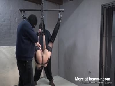 Brutal Fisting In Suspension Position