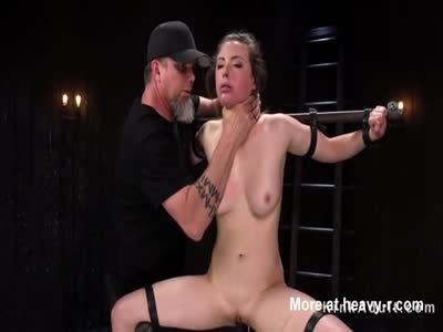 Bound Busty Anal Fucked And Toyed