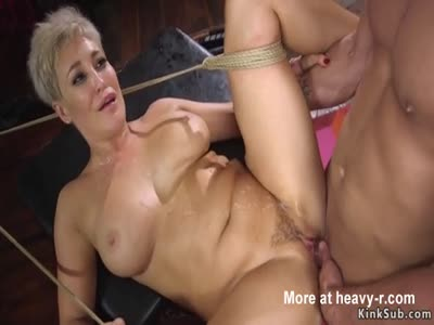 Busty Wife In BDSM Sex