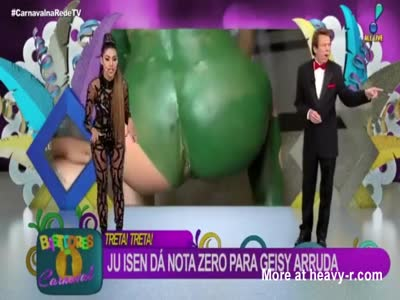 Brazilian Live TV Accidentally Shows a Butthole