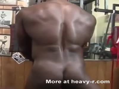 Black Woman  muscles