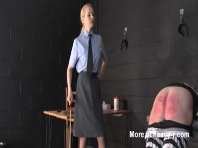 Strict Prison Officer