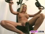 Milf Working Out In Gym