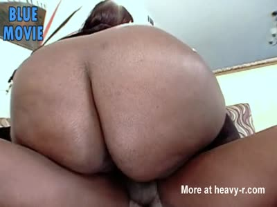 Extreme BIG ebony ass