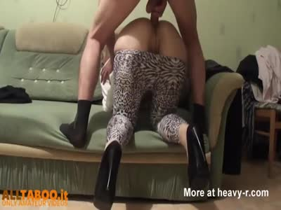 Anal Sex On The Sofa