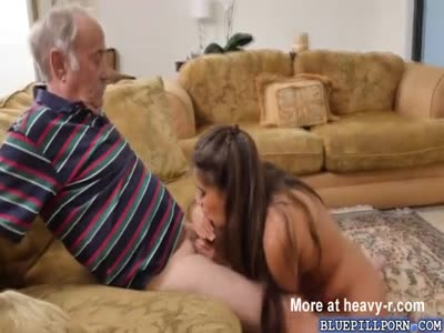 Teen Making Grandpa Cum In Her Mouth