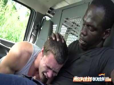 Lost guy hitches a ride with black dude